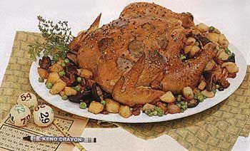 Photo of Find the recipe for Chicken with Truffles, Wild Mushrooms and Potatoes and other…