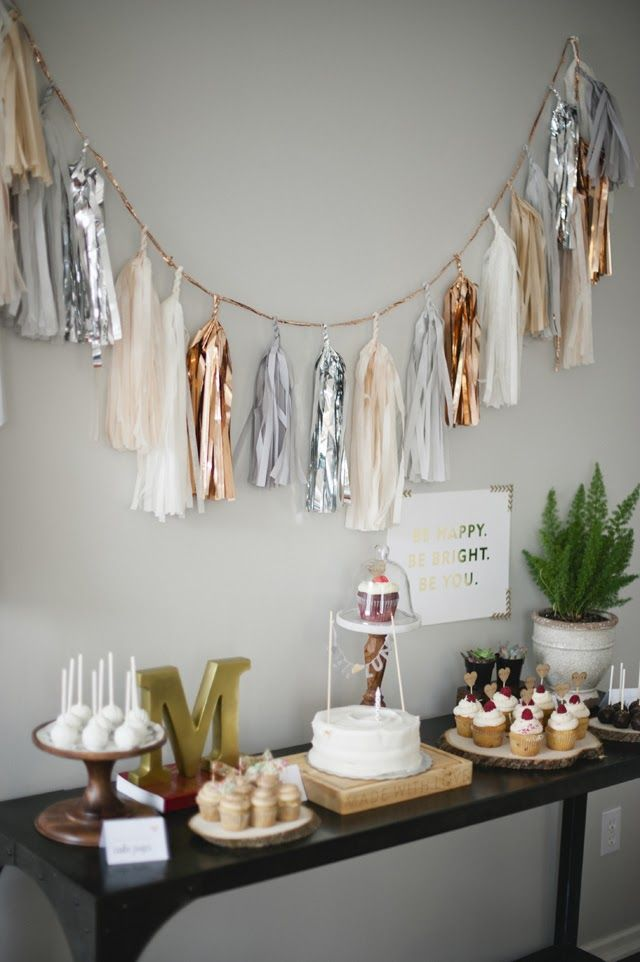 Malia's Rustic #Glam 1st #Birthday Party By Melissa Oholendt #Photography on Fawn Over #Baby