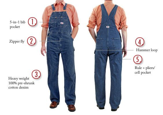 49627cf61a  699 Round House Made in USA Stone Washed Blue Denim Overalls – Round House  American