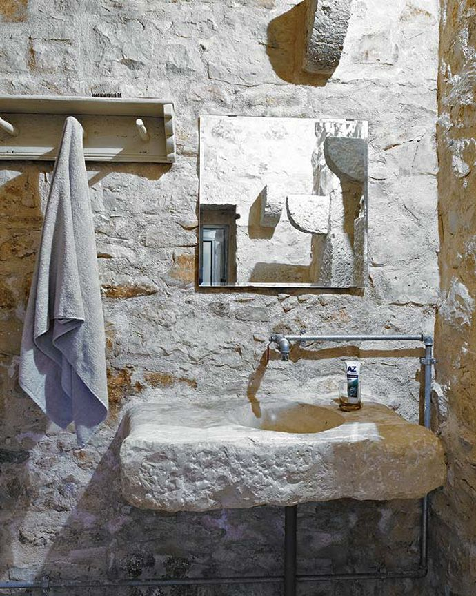 Un recupero in Sicilia Idee bagno rustico, Design bagno