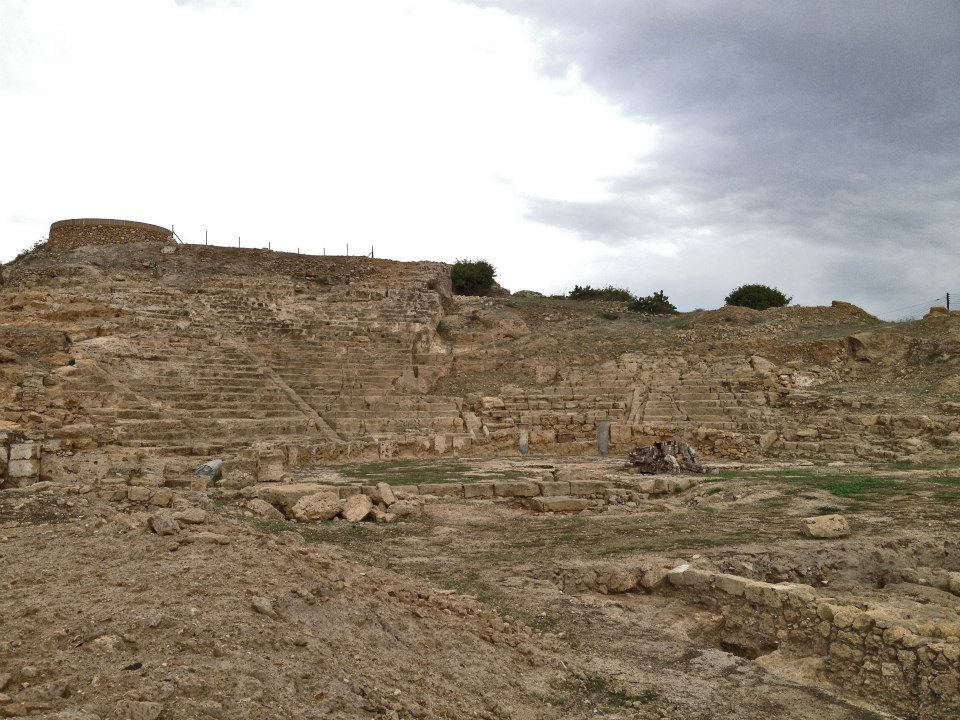 Ancient Theatre, Fabrica Hill, Paphos