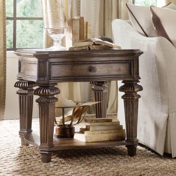 Recliner Sofa Rhapsody End Table Hooker Furniture Star Furniture Houston TX Furniture San