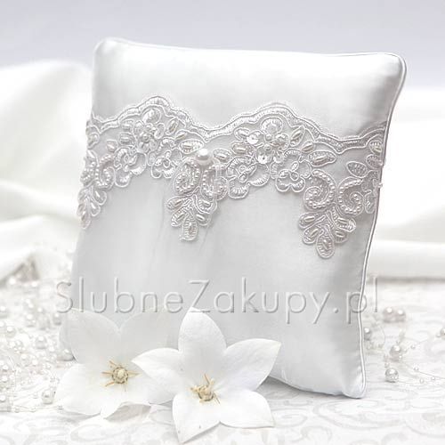 Poduszka Na Obraczki Brigitte White Dream Sklep Slubnezakupy Pl Wedding Sneaker Wedding Shoe Throw Pillows