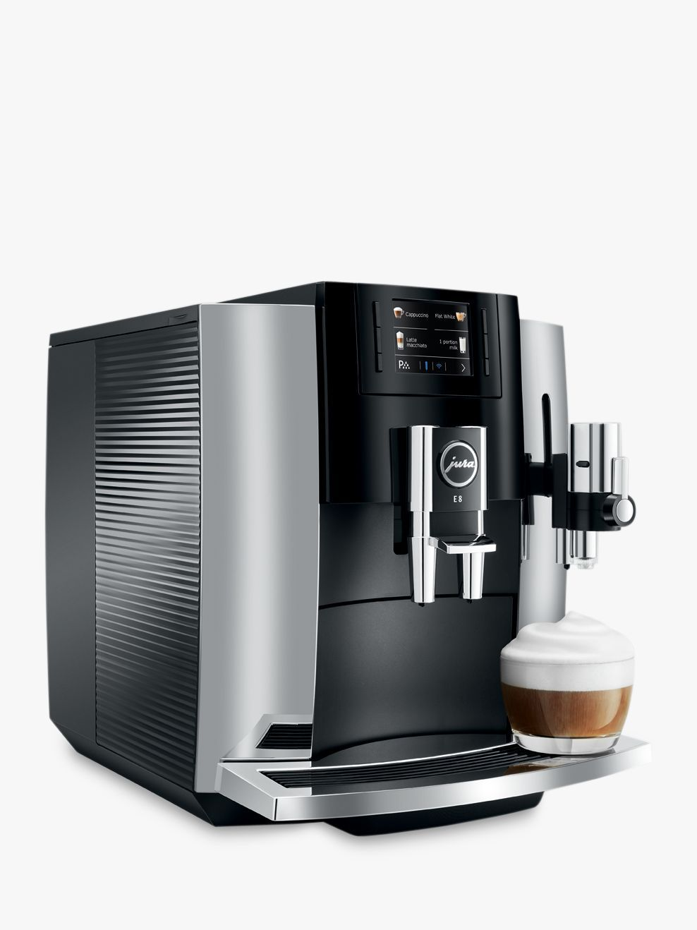 JURA E8 Bean-to-Cup Automatic Coffee Machine   Automatic ...