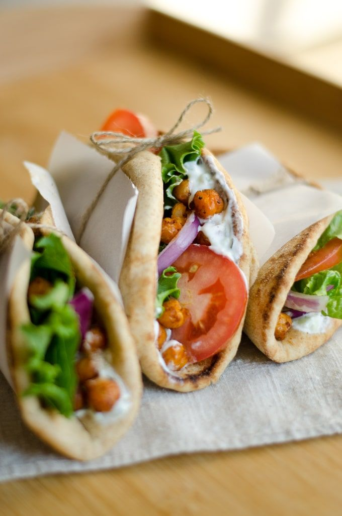 Roasted Chickpea Gyros images