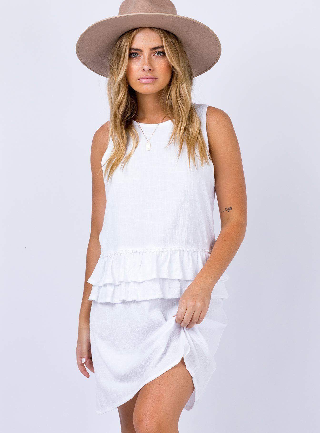 Jubal Mini Dress White Mini Dress White Mini Dress Dresses [ 1820 x 1344 Pixel ]