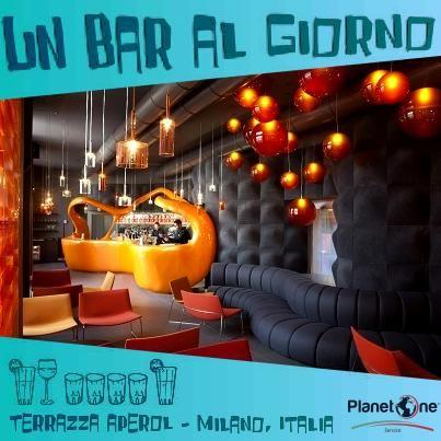 Un Bar Al Giorno Terrazza Aperol Milano Italia La Sede