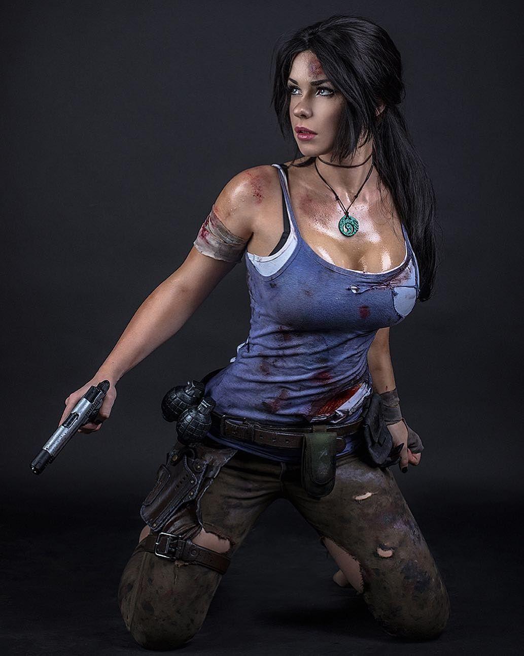 Lara fodona   Cosplay femenino, Chicas cosplay, Lara croft cosplay