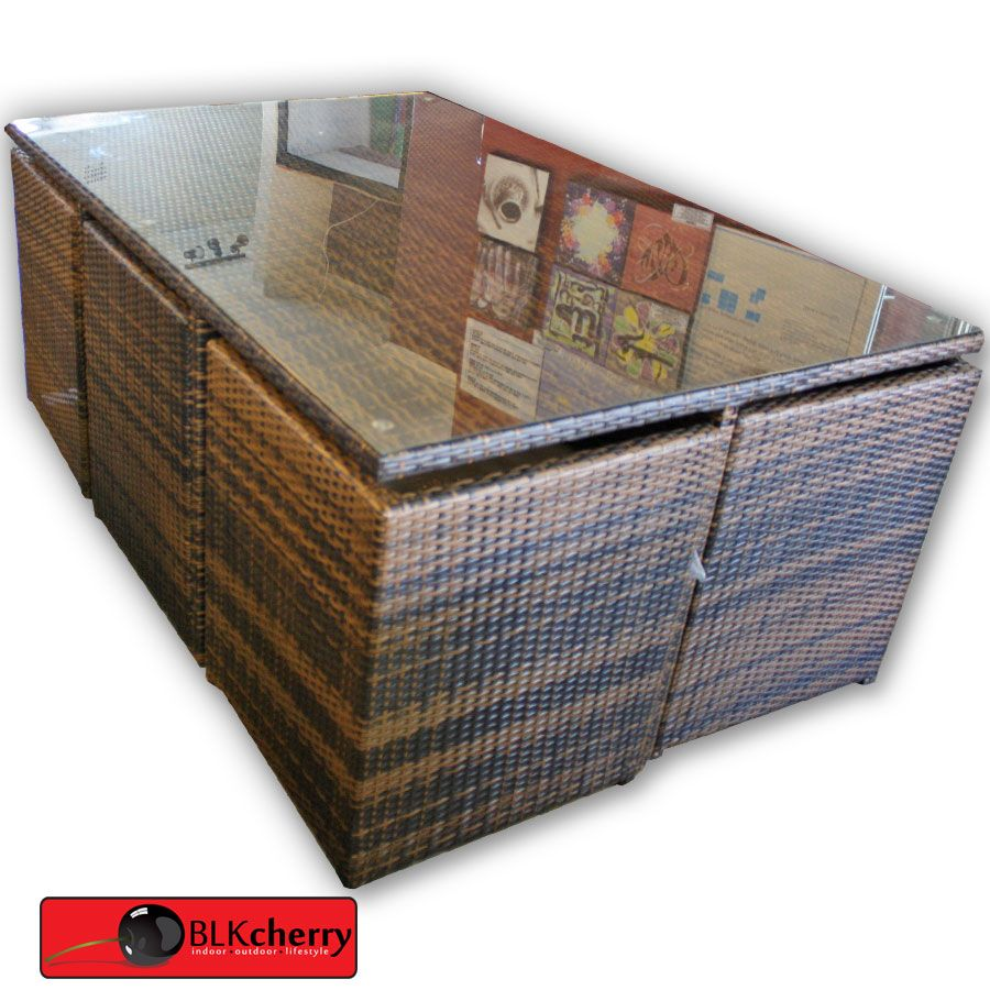 30++ Rattan compact dining set Trend