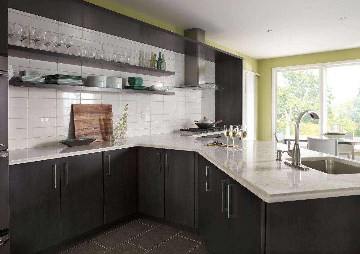 Contemporary Kitchen Photo By Kemper Cabinetry   Homeclick Community