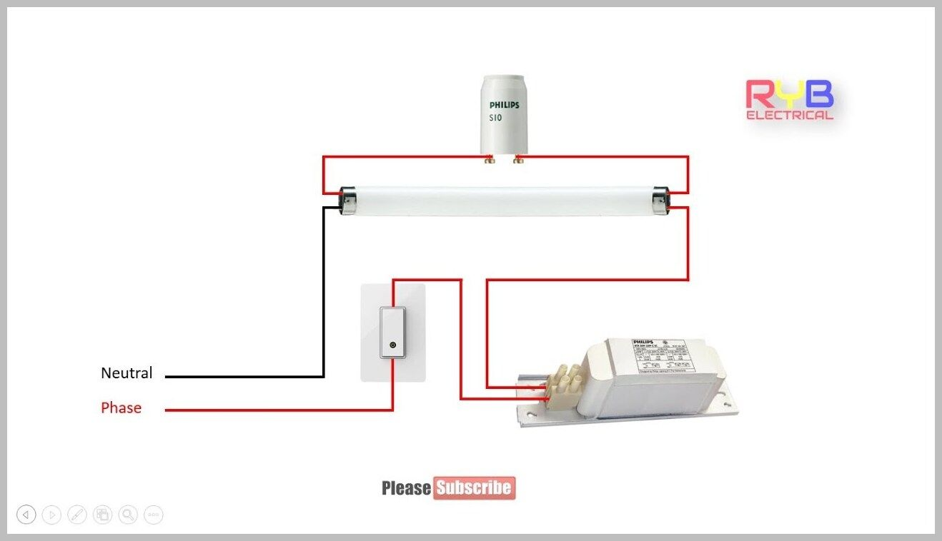 51 Reference Of Led Fluorescent Light Wiring Led Fluorescent Led Fluorescent Tube Led Fluorescent Light