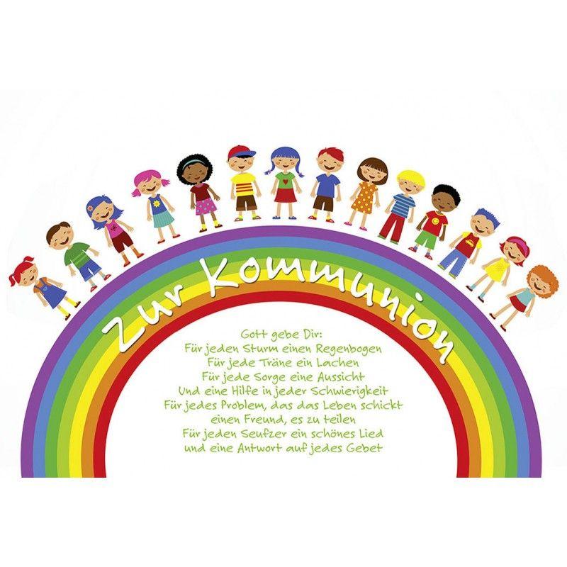Kommunion Thema Regenbogen