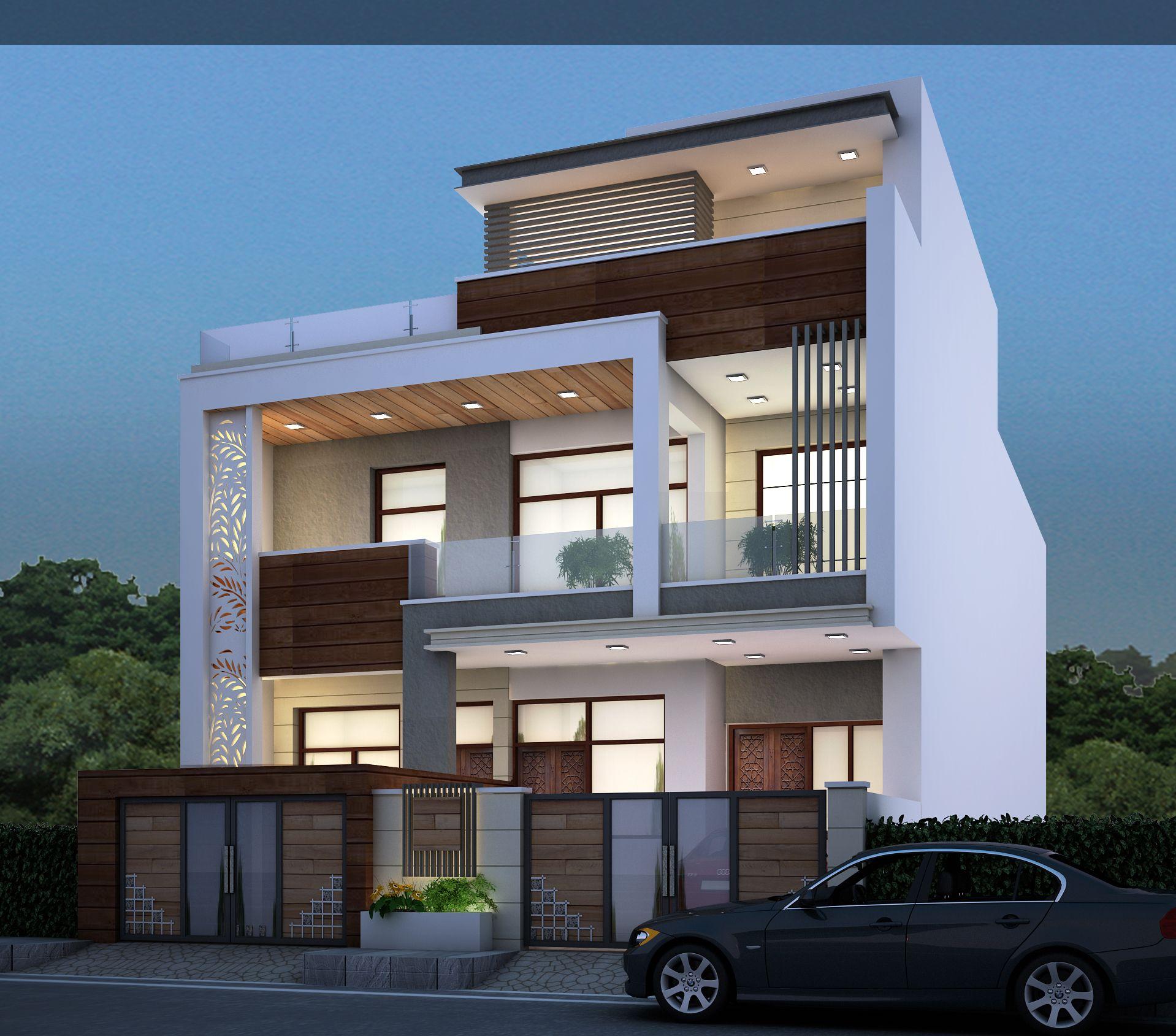Chitrakoot Scheme Jaipur With Images Facade House Duplex House Design House Designs Exterior