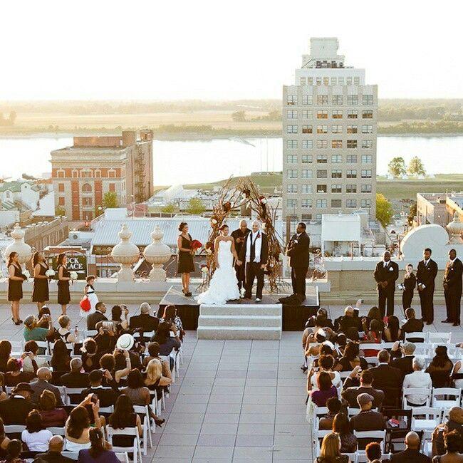 Wedding Invitations Memphis Tn: A Wedding On Top Of Memphis Peabody Hotel, On Union Ave