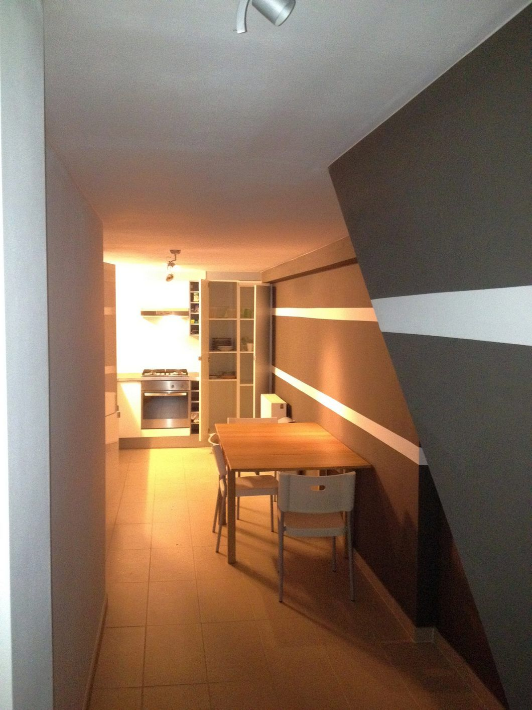 Apartment of 80m² located on mezzanine in a house with ...