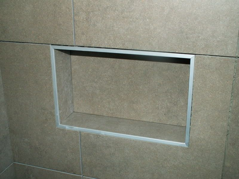 Shower Niche Shower Niche Shower Tile Designs Tile Edge