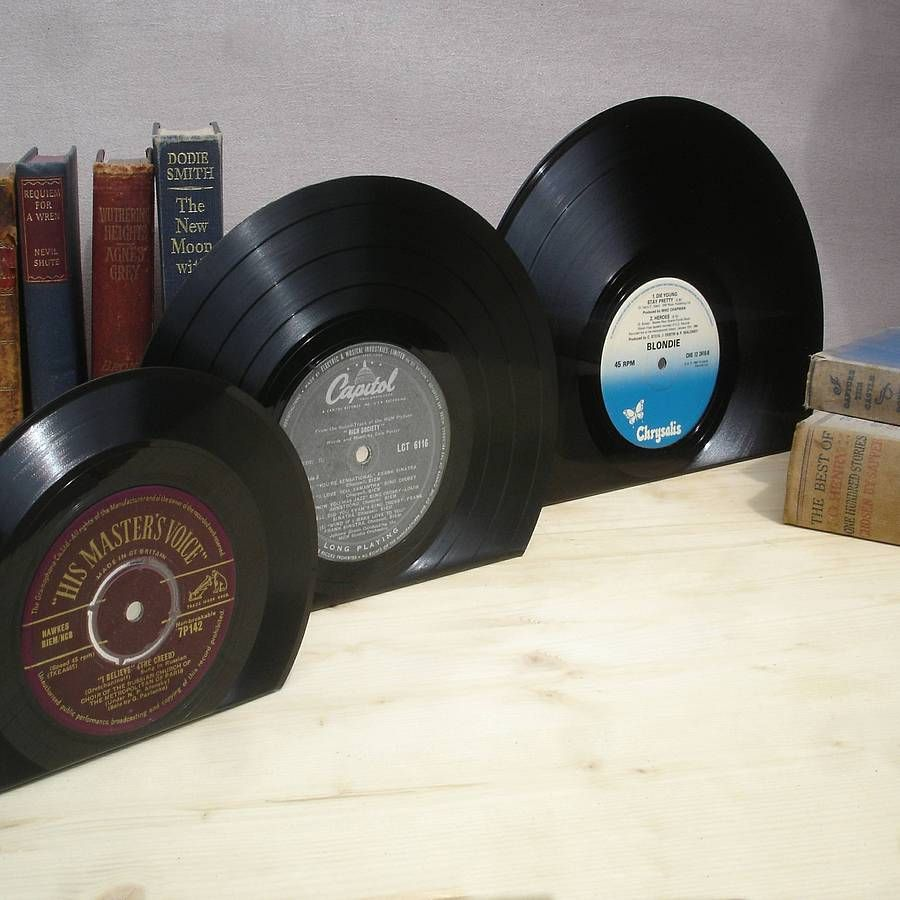 Vinyl Record 10 Inch Bookends Medium Vinyl Vinyl Records Bookends