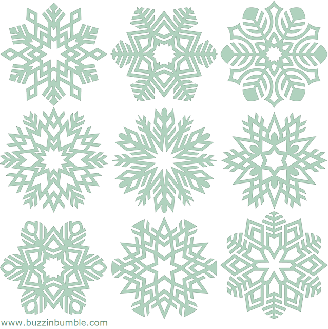 BuzzinBumble: Free Snowflake Applique Patterns for the 12 Days of Christmas in July Blog Hop: Frosted Flakes Quilted Runner & a Giveaway! #craftedapplique