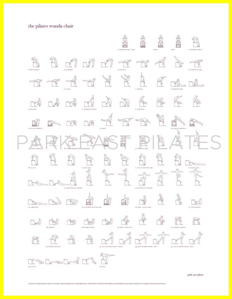 31 Reference Of Pilates Chair Exercises Pdf In 2020 Pilates Chair Chair Exercises Pilates