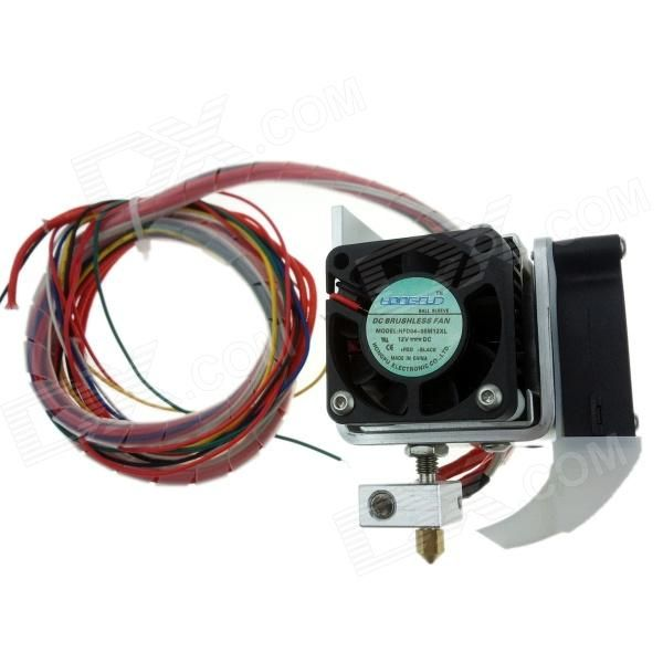 Heacent MK8  0.2mm Nozzle 1.75mm Filament Extruder for Makerbot / RepRap / Mendel / i3 3D Printer