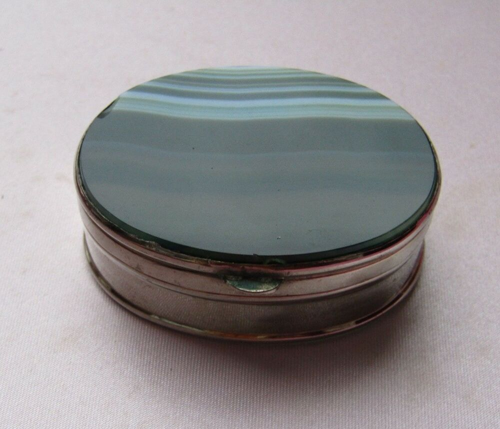 Sterling Silver Pill Box 1961