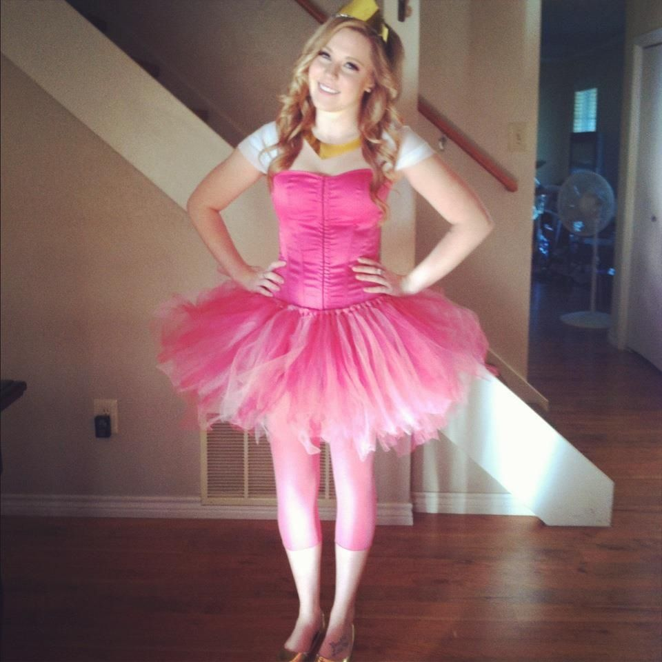 Sleeping Beauty Princess Running Costume Dress