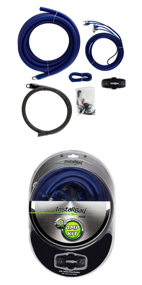 amplifier kits the install bay ak02 1 0 gauge 2000 watt complete rh fi pinterest com