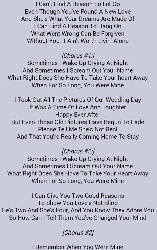 Dixie Chicks When You Were Mine With Images Country Song