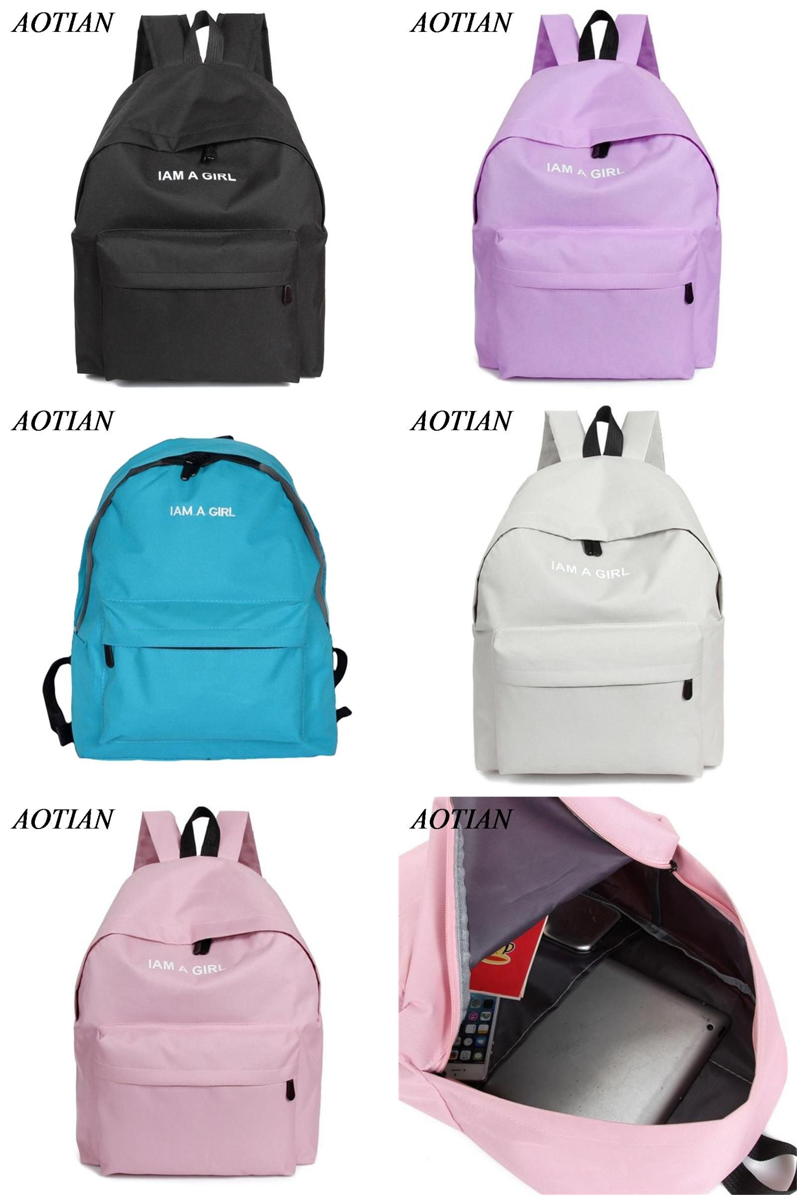 visit to backpack new canvas women backpack fashion printing
