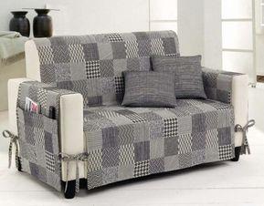 Copertura divano ~ Rinnovare divano fai da te copridivano a quadri rinnovare