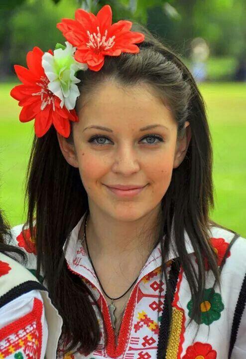 Beautiful Bulgarian Girl  Bulgarian Folklore In 2019  Bulgaria, Worlds Beautiful -1935