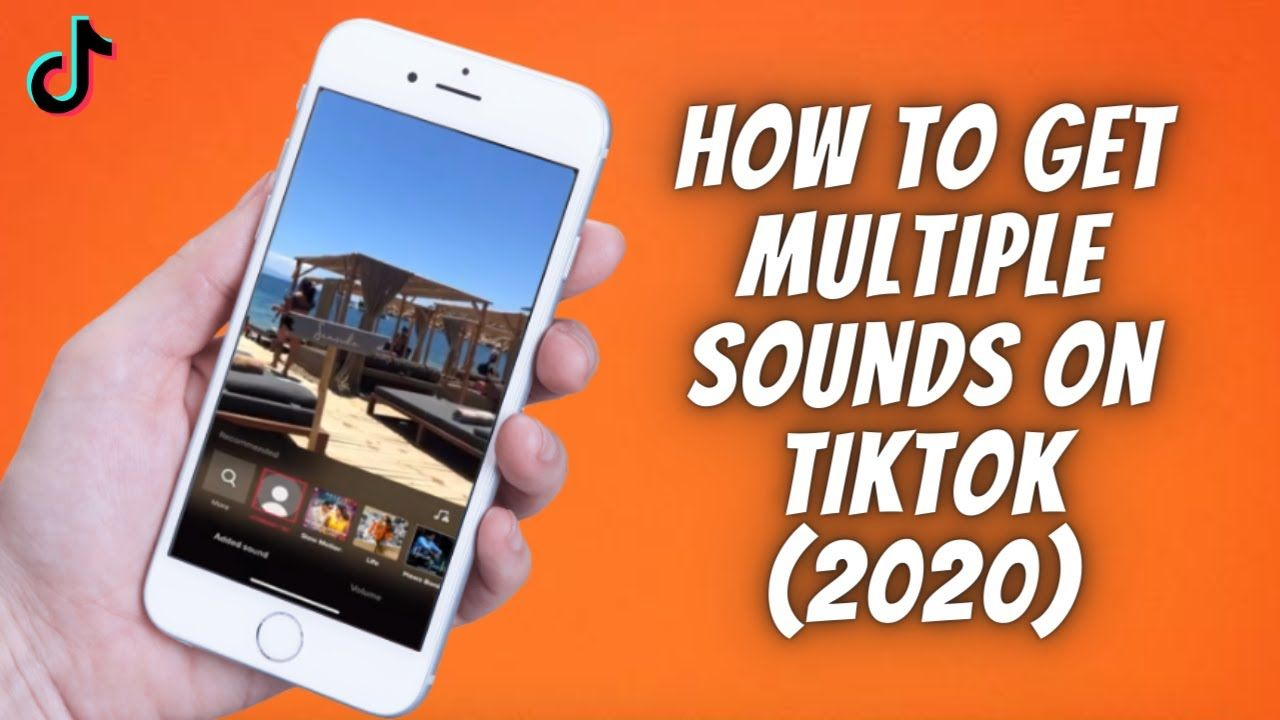How To Get Multiple Sounds On Tiktok 2020 How To Add 2 Sounds Or Mo Sound Tik Tok How To Get