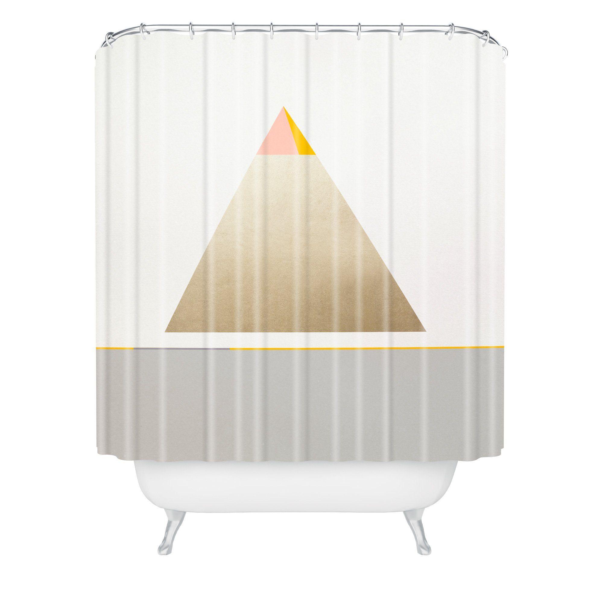 Bloc De Couleur Iv Shower Curtain Iveta Abolina