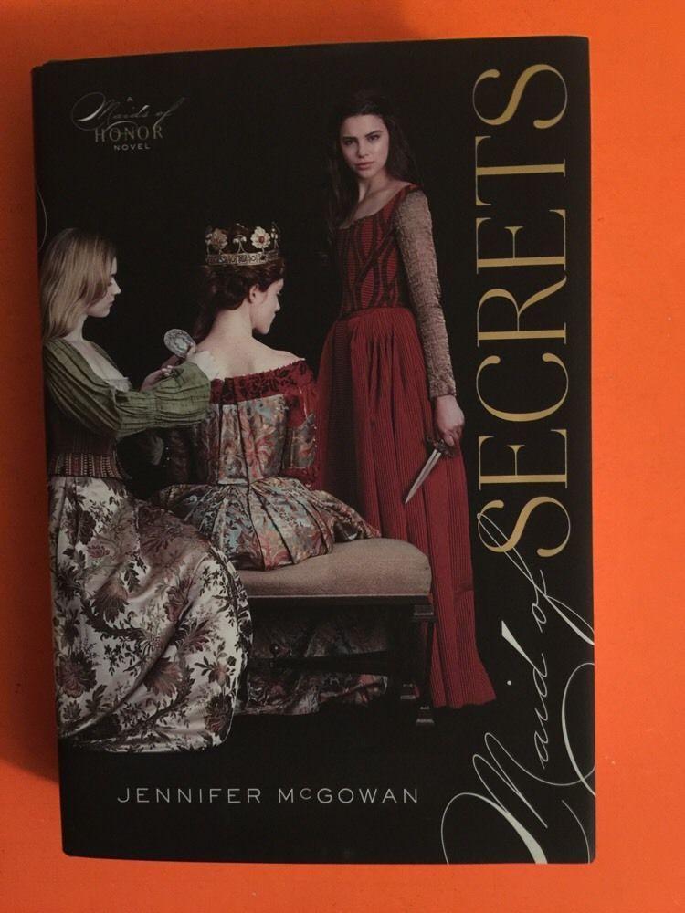 New Maid Of Secrets By Mcgowan Jennifer Hardcover Free Shipping Hardcover Hardcover Book Maid