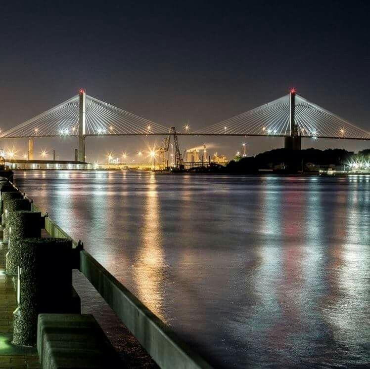Image result for talmadge bridge savannah