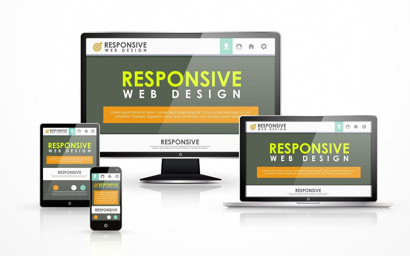 Web Design And Development Company New Jersey Responsive Design By Halpin Digital Website Design Company Web Design Web Design Agency