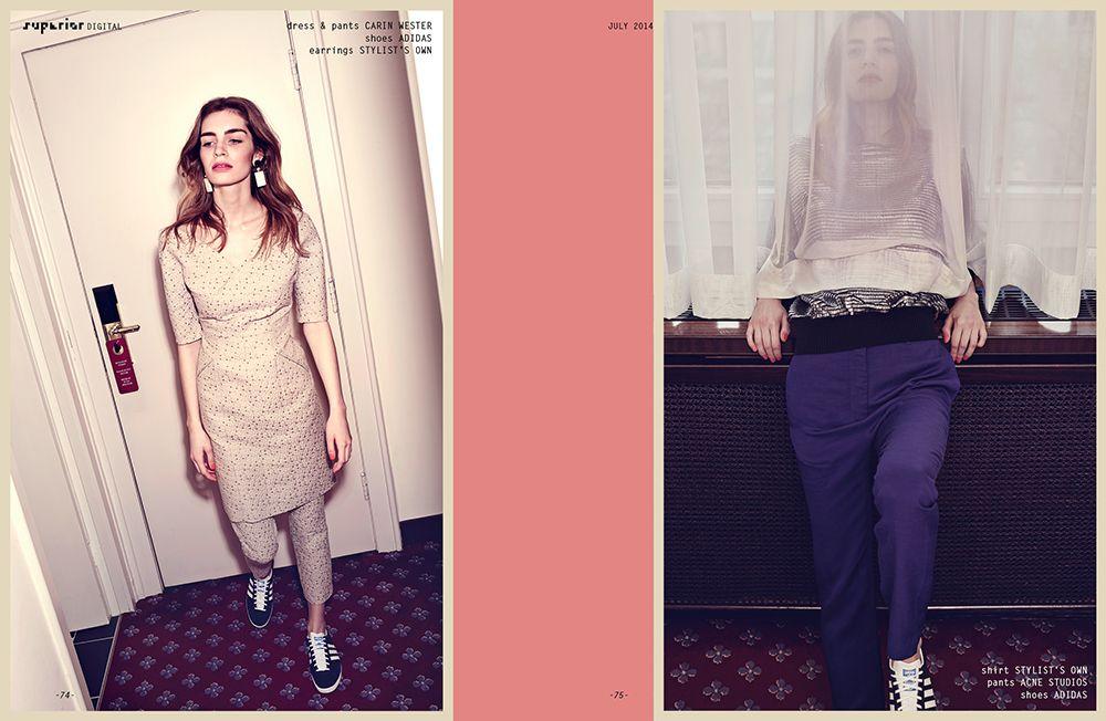 Fashion Editorial by JOHN BRÖMSTRUP B F\/W 16 look-book - brigitte k chen h ndler