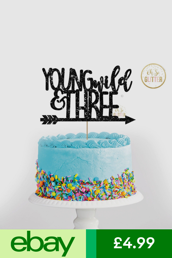 Glitter cake topper Three cake topper three birthday girl glitter cake topper third birthday cake topper third birthday boy