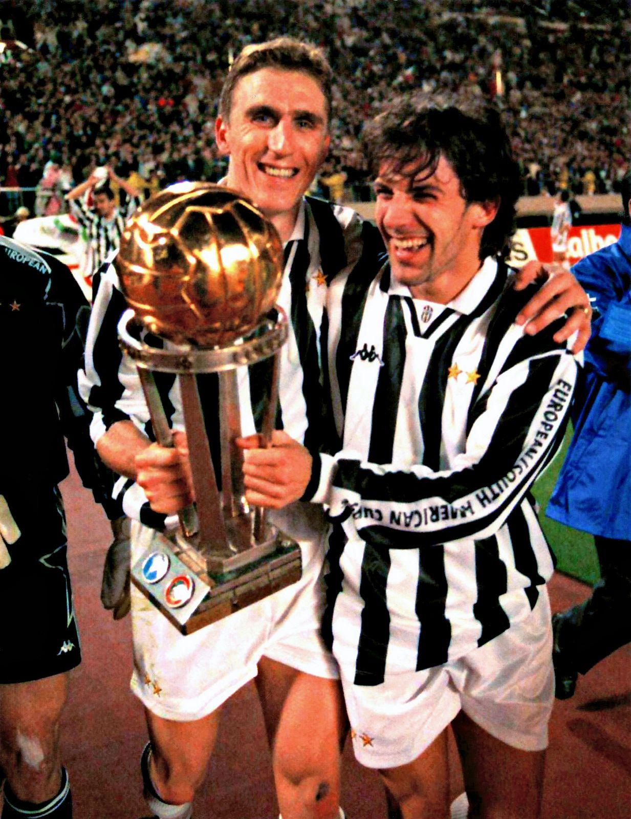 Alen Boksic Et Alessandro Del Piero Alessandro Del Piero Juventus Club World Cup