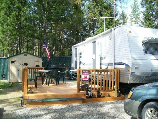 Our first trailer at LMR
