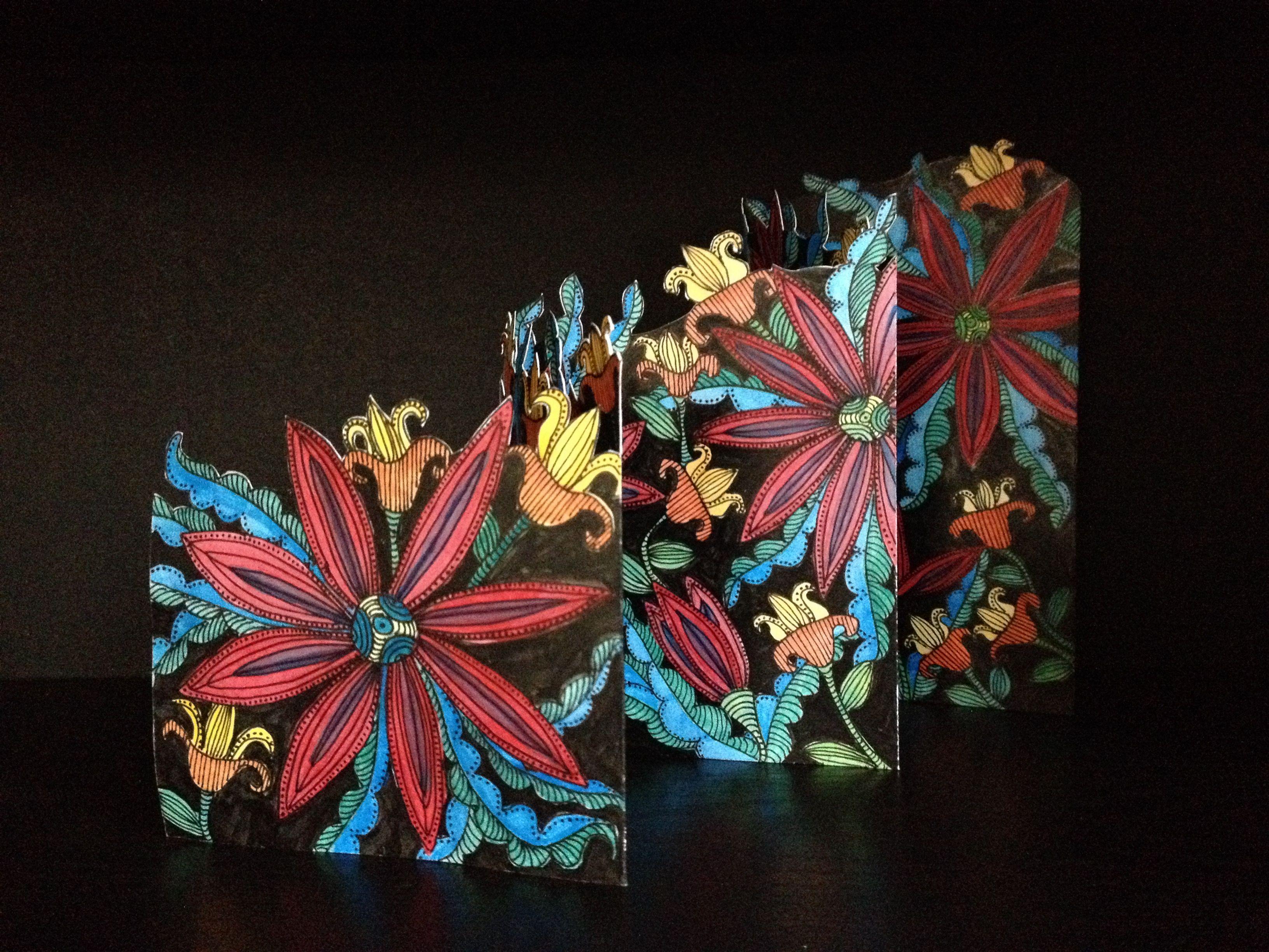 jeka lambert diagonal accordion book watercolor india