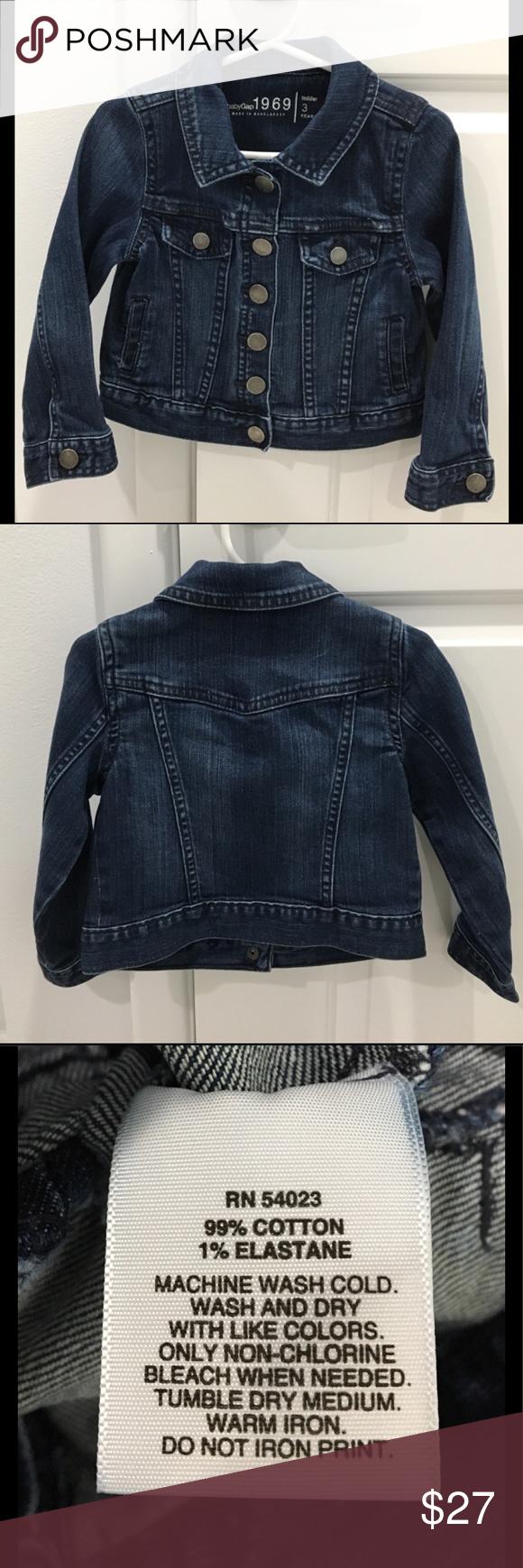 Baby Gap 1969 Jeans Jacket Jean Jacket Trendy Fashion Women Jackets [ 1740 x 580 Pixel ]