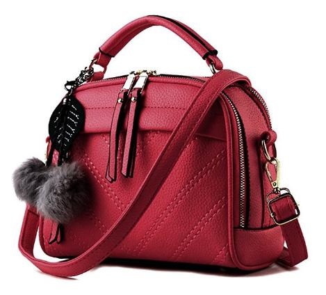 d615de2b5013 Amazon   Women Leather Bag Top-handle Tote Ladies Bags Just  9.99 W Code  (Reg    19.99) (As of 5 19 2018 9.45 AM EDT)