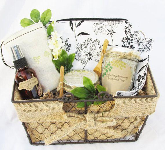 ... GiftsRelaxation GiftSpa BasketNature WeddingWedding on Etsy, USD78