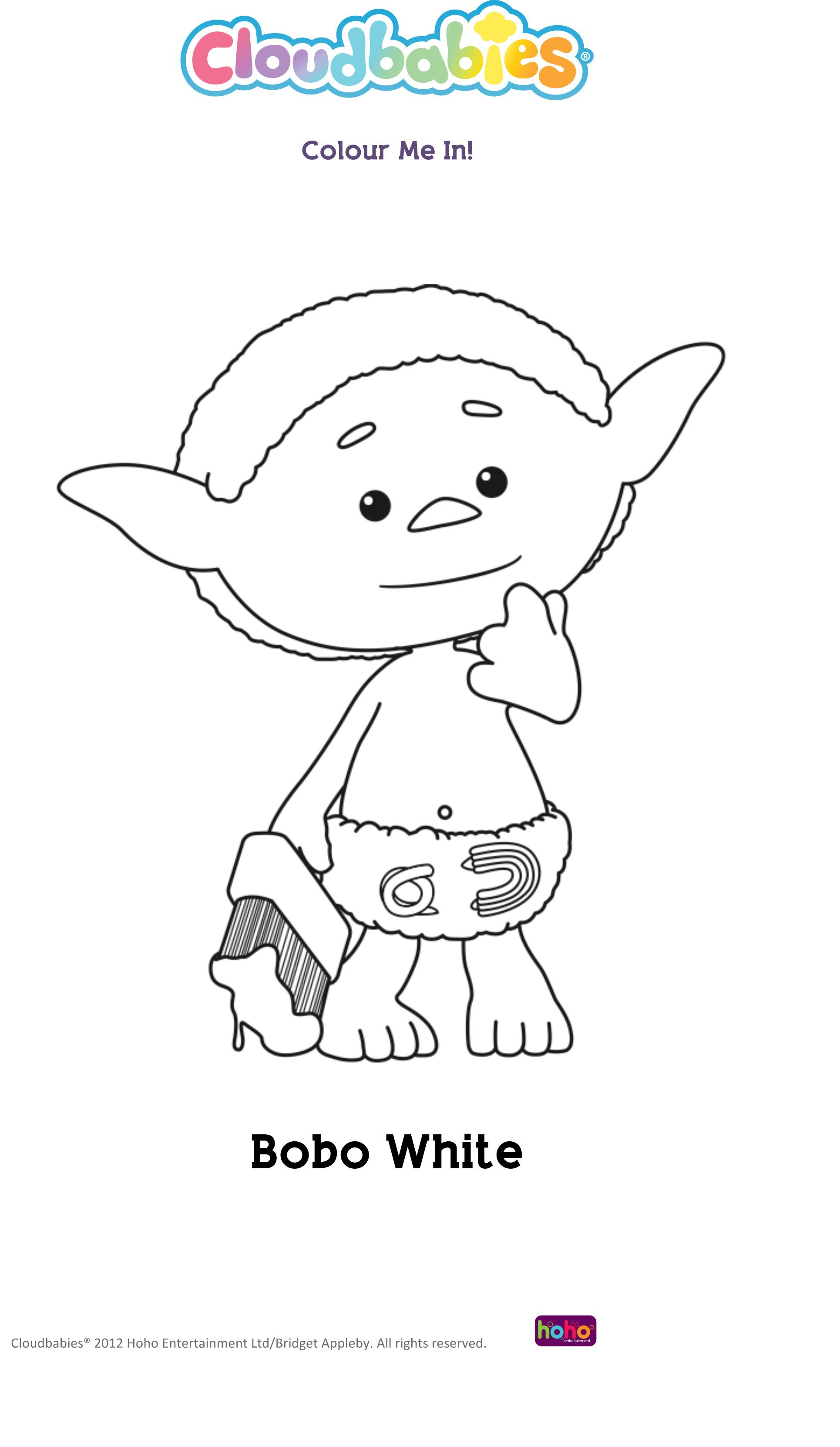 cloudbabies coloring pages for kids - photo#6