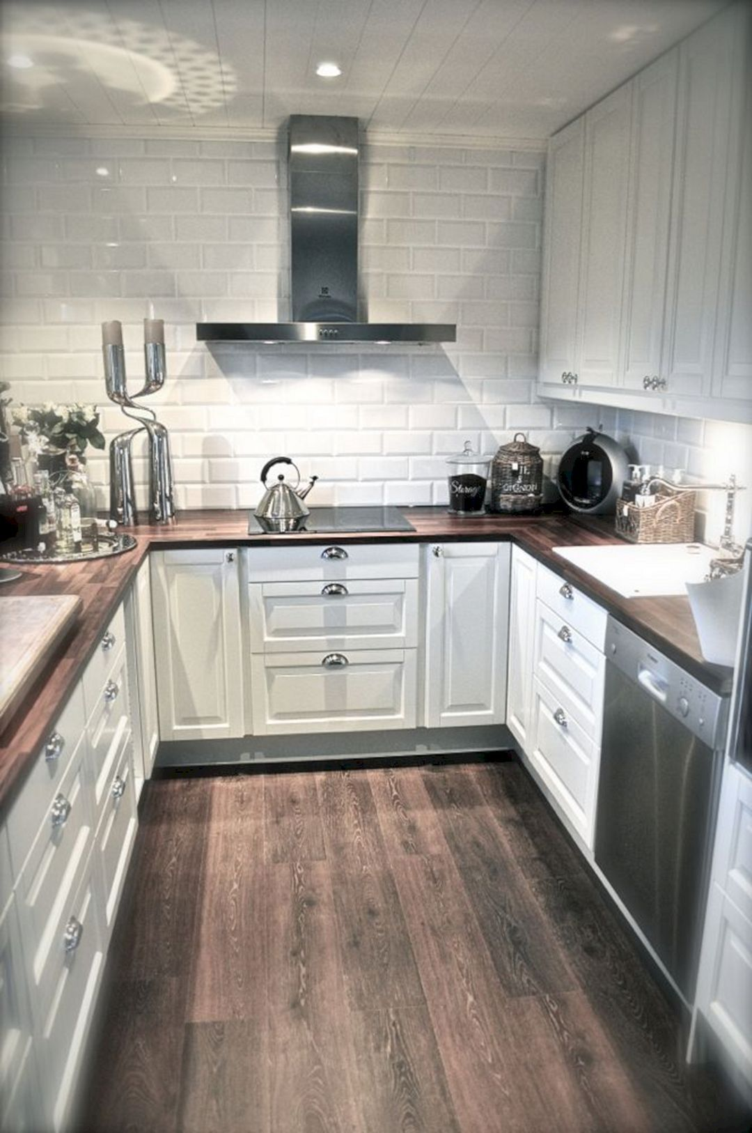 Awesome Tiny Kitchen Design For Your Beautiful Tiny House: 65+ Best Design Ideas #kitchendesignideas