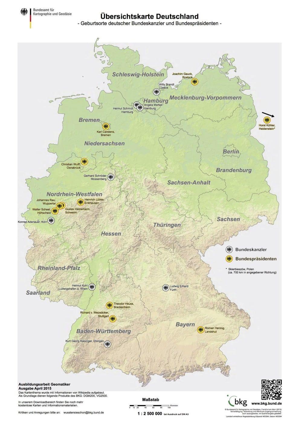 25 Karten Die Dir Genau Erklaren Wie Deutschland Funktioniert