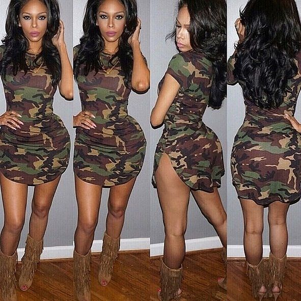 844638b743efb army fatigue dress - Google Search | Slayed | Short summer dresses ...