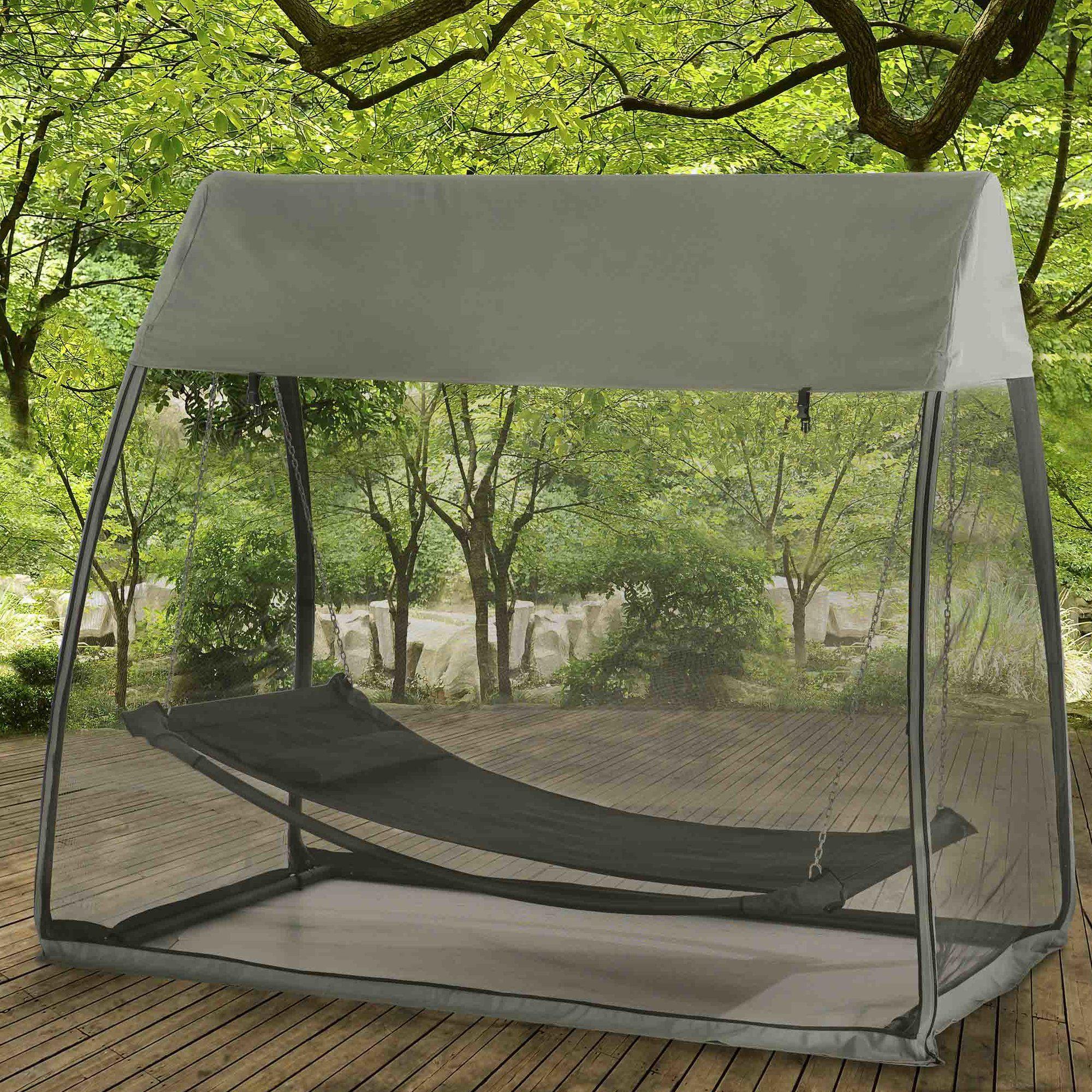 Braes Tented Camping Hammock Hammock tent, Backyard