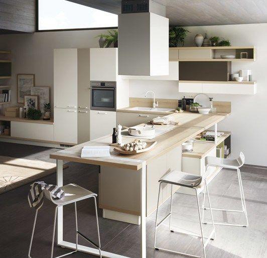 FoodShelf - Scavolini imagine des cuisines modulables Cuisine